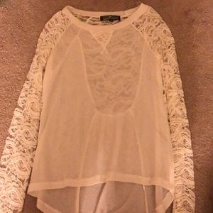 Tops - Never worn, long sleeve blouse